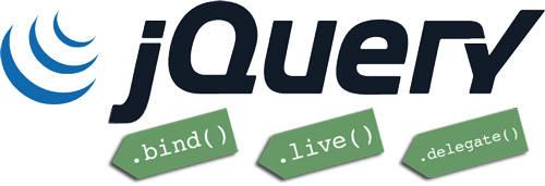 jQuery中.bind()、.live()和.delegate()之间区别详解