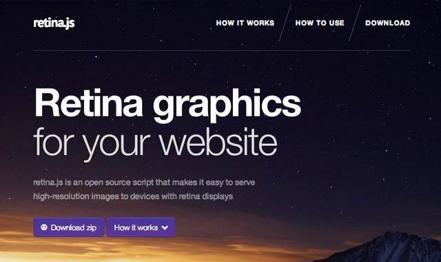 网页设计师如何制作Retina图像