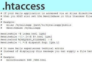 Apache网站配置 .htaccess 使用技巧总结