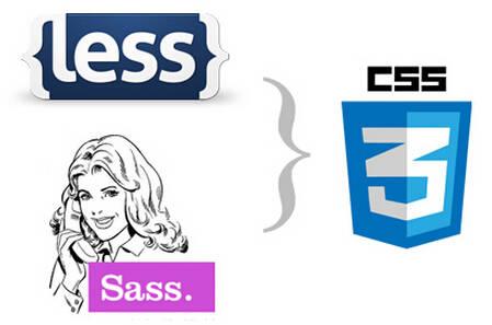 less编写网页样式css代码