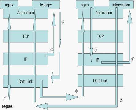 PHP实现流量复制tcpcopy ( php + python)